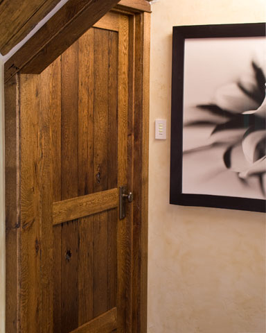 ... custom reclaimed oak door & Custom Solid Wood Doors and Millwork by Pine Door